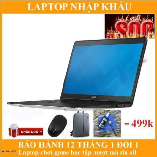 Laptop Dell Inspiron 5548 I5 5200u 4GB 500GB giá rẻ hàng nhập khẩu full box zin all bảo hành 12 tháng.uy tín chất lượng. + combo quà tặng siêu hấp dẫn . thumbnail