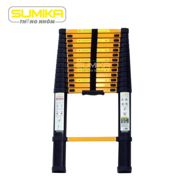 Thang nhôm đơn rút gọn Sumika SKS410 (Sơn tĩnh điện 4.1M)