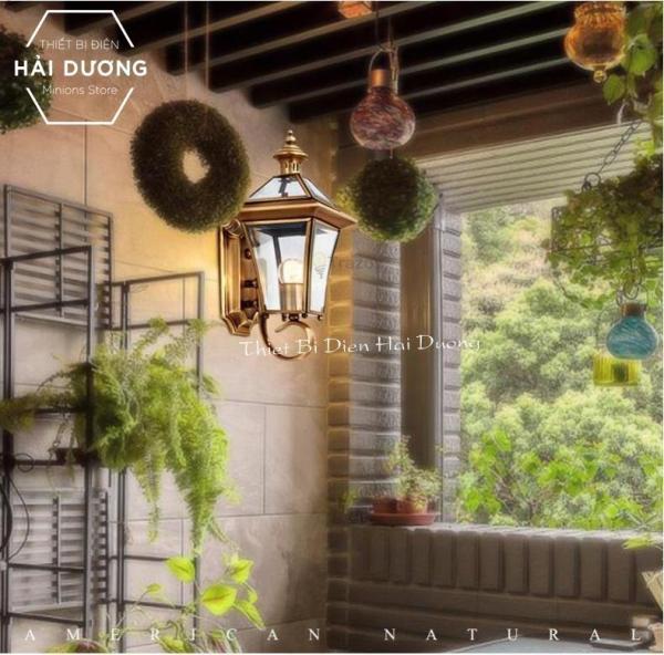Đèn Gắn Tường Cao Cấp Đồng Nguyên Chất Trang Trí 0623S - Đã bao gồm bóng - Bảo hành 12 tháng