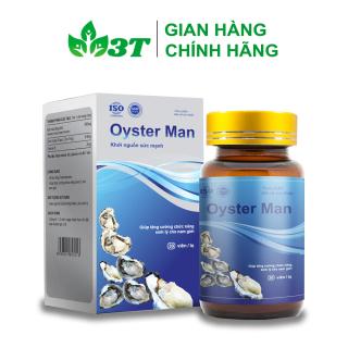 Tinh Hàu Oyster Man Tăng Cường Sinh Lý Nam Giới, Cải Thiện Chất Lượng Tinh Trùng (Hộp 30 Viên) thumbnail