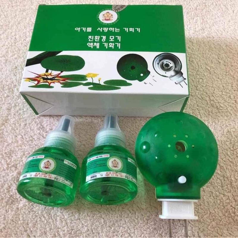Bộ đèn đuổi muỗi Hàn Quốc.