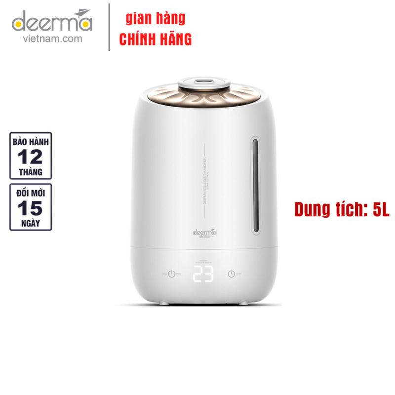 Máy tạo ẩm, phun sương Deerma F600, 3 mức độ tạo ẩm, Tự động ngắt - Hàng Chính Hãng
