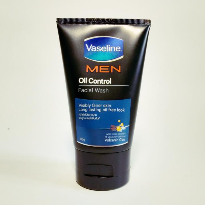 Sữa rửa mặt Vaseline Men Oil Control Thái Lan 100G