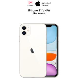 iPhone 11 VN/A - Hàng Chính Hãng - Phiên bản mới (Không có củ sạc & tai nghe)