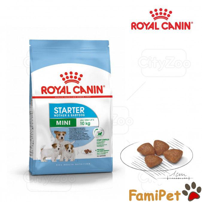 Thức Ăn Khô Cho Chó Mẹ Và Chó Con Giống Nhỏ Túi 1kg - Royal Canin Mini Starter Mother & Babydog Giá Cực Ngầu