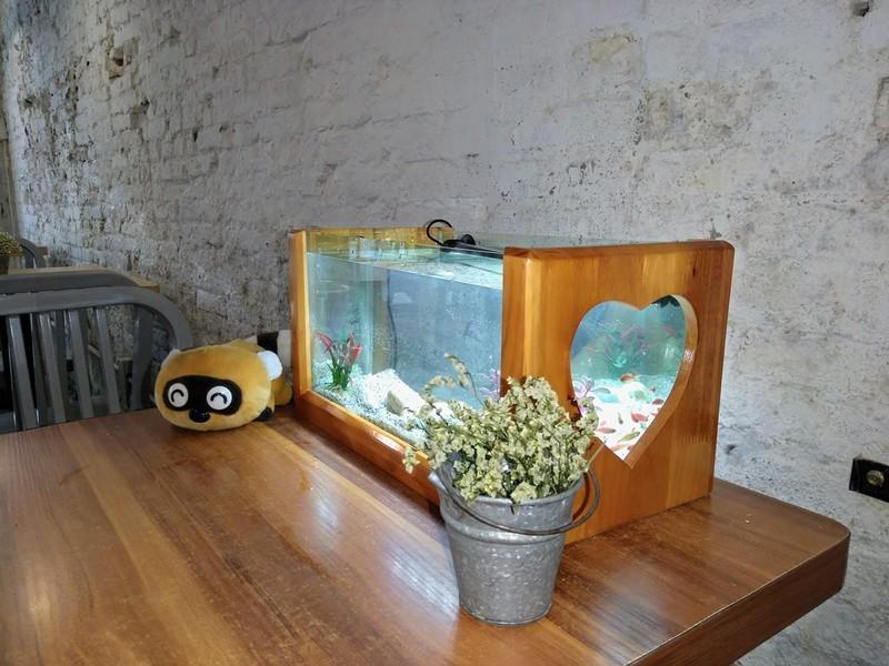 Bể cá kiểng khung gỗ hình trái tym size lớn