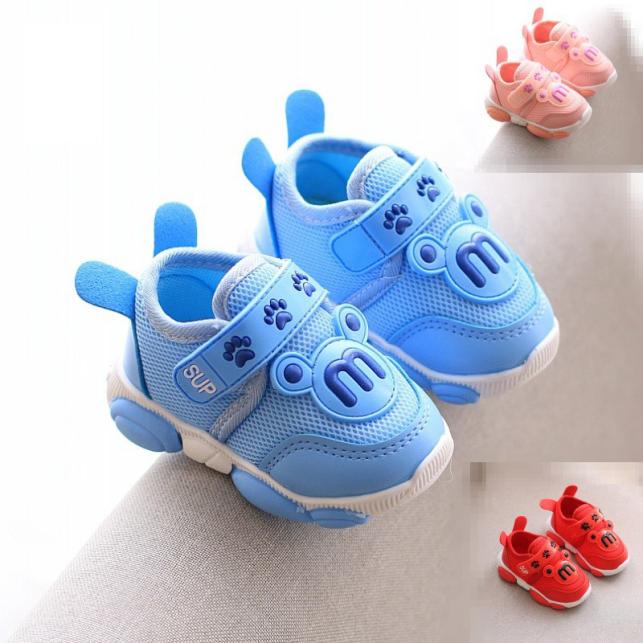Giày Tập Đi Em Bé Trai Bé Gái Từ 0 - 3 Tuổi Siêu Nhẹ Đế Mềm Chống Trơn Trượt Dép Tập Đi Phong Cách Hàn Quốc G30  Giày Tậ giá rẻ