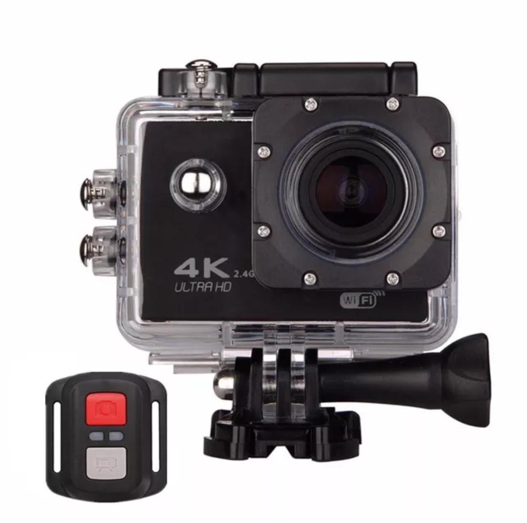 Camera hành trình 4K 60fps Sport Cam , chống nước , kết nối WIFI, hỗ trợ điều khiển từ xa, ( đồng ý xem hàng trước khi nhận) Nhật Bản