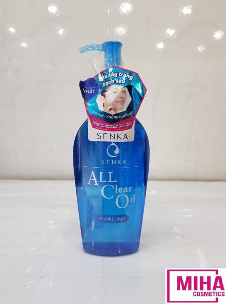 Dầu Tẩy Trang Sạch Sâu SENKA A.L.L Clear Oil 230ml
