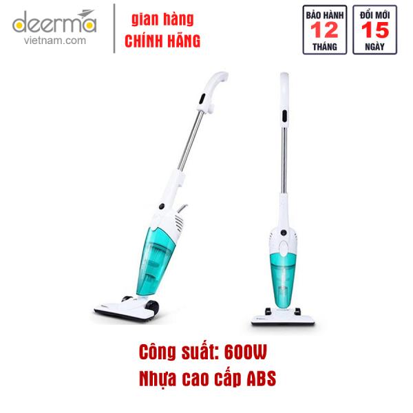 Máy hút bụi cầm tay Deerma Vacuum Cleaner DX118C công suất 600W Siêu Hút 1.2L Dung Tích Lớn Cho Gia Đình