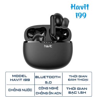 Tai nghe bluetooth không dây TWS Havit i99 - Chống ồn - Chống nước thumbnail