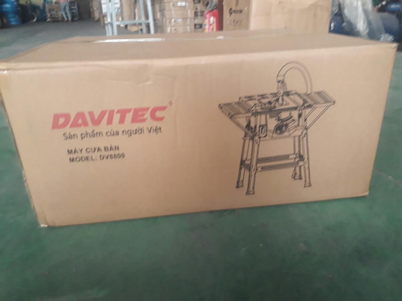 Máy cưa bàn Davitec DV8800