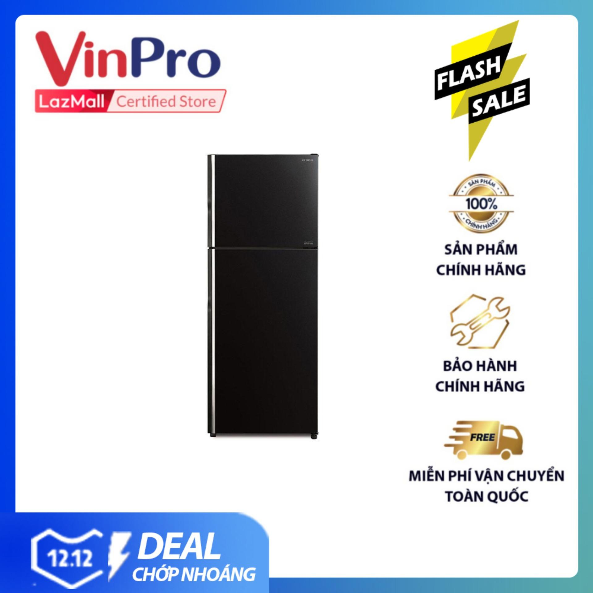 Không Thể Bỏ Qua Giá Hot với Tủ Lạnh Hitachi Inverter R-FG510PGV8(GBK) 406L (Màu đen) - Hàng Phân Phối Chính Hãng, Tiết Kiệm điện - Hàng Chính Hãng