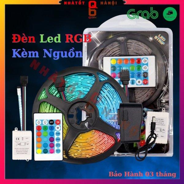 Bảng giá Đèn led tiktok đèn led RGB dây 5M đổi màu kèm nguồn, Có chống nước có Remote điều khiển trang trí nhà cửa NTHN05