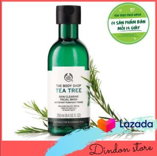 Sữa tắm dạng gel THE BODY SHOP Tea Tree Body Wash 250ml - 100% CHÍNH HÃNG AUTH [Others] thumbnail
