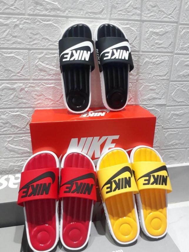 Dép quai ngang Nike Nam&Nữ Siêu đẹp chuẩn hình 3 màu giá rẻ