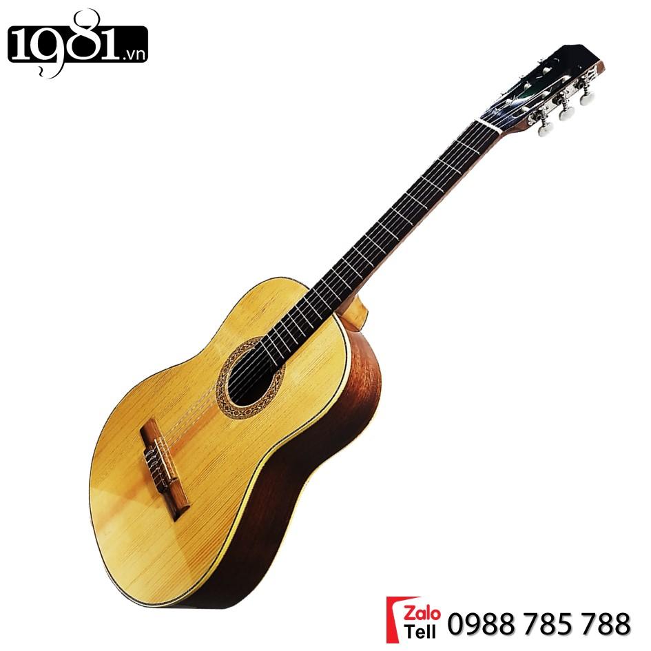 Đàn guitar Classic GT801-CL gỗ tự nhiên, thương hiệu của xưởng sản xuất 1981, đàn chất lượng với combo nhiều phụ kiện đi kèm