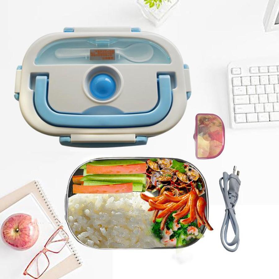 Camen ham nong thuc an - Hộp cơm giữ nhiệt magicc- Hộp hâm nóng cơm và thức ăn inox cao cấp. An toàn, tiện lợi, bền đẹp - Bảo hành uy tín 1 đổi 1