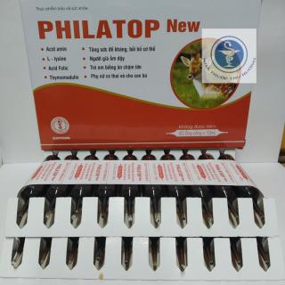 PHILATOP New Đại Uy hộp 20 ống thủy tinh thumbnail