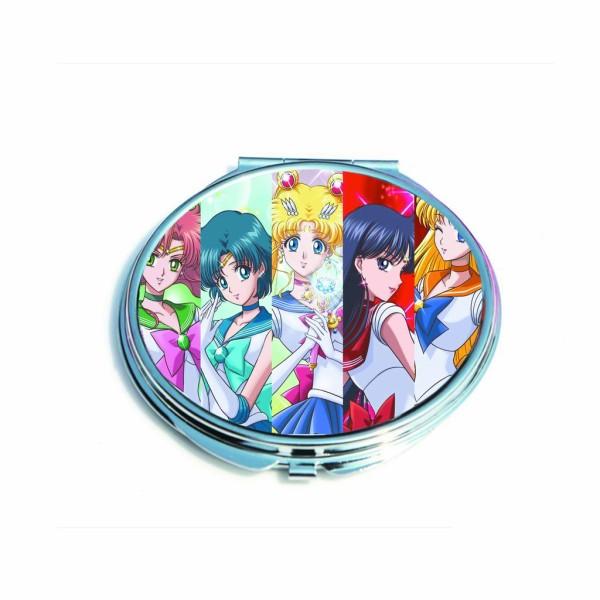 Gương cầm tay 2 mặt IN HÌNH Sword Art Online Sailor Moon Tenki no Ko anime chibi giá rẻ