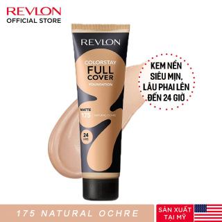 Kem nền lâu phai siêu lì toàn diện Revlon ColorStay Full Cover 24h 30ml - 175 Natural Ochre (HSD dưới 8 tháng) thumbnail