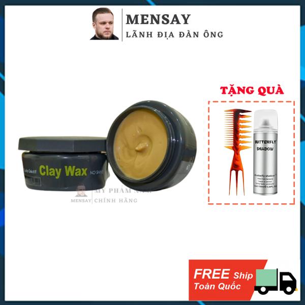 Sáp vuốt tóc Clay Wax Subtil 100ml, sáp tạo kiểu tóc chính hãng Clay Wax