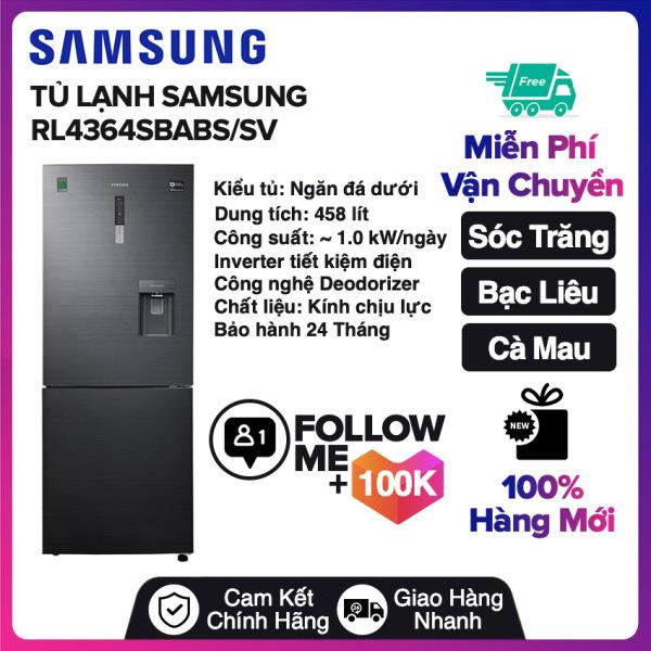 Bảng giá Tủ lạnh Samsung Inverter 458 lít RL4364SBABS/SV Miễn phí vận chuyển nội thành Sóc Trăng, Bạc Liêu, Cà Mau Điện máy Pico