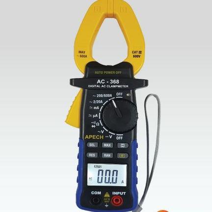 Ampe kìm đo dòng AC APECH AC-368 (600A)