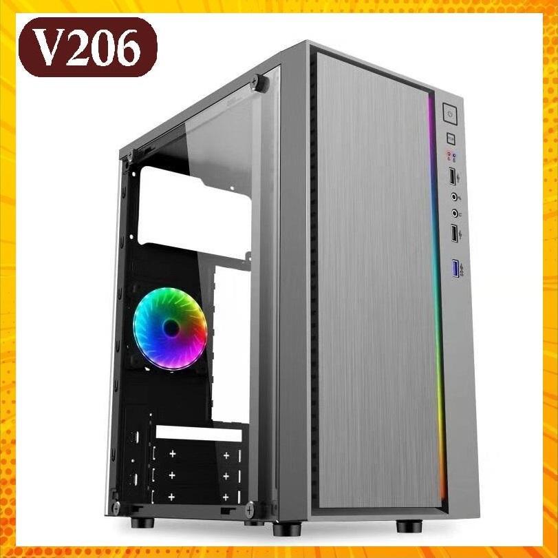 Giá Case VSP V206 LED RGB - USB 3.0