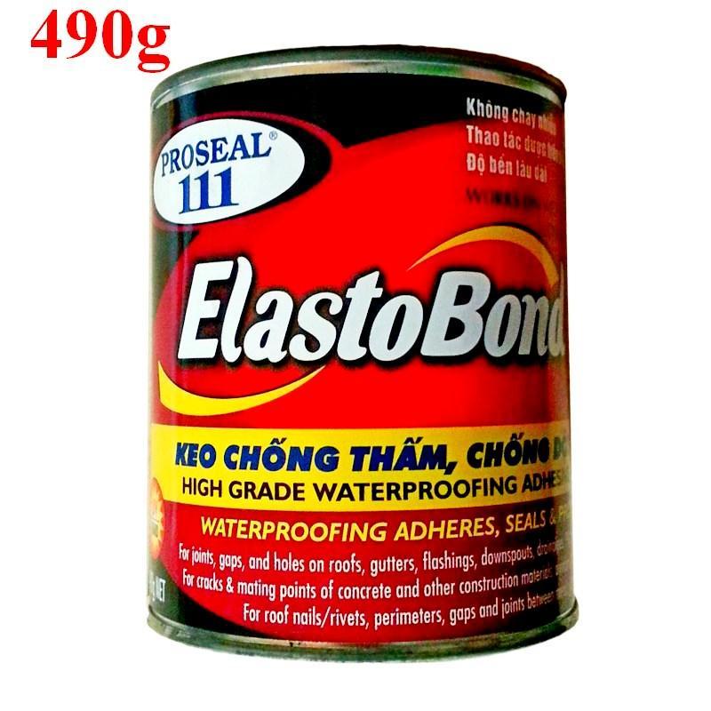 Keo chống dột Proseal 111 Elastobond 490g trám trét chống thấm