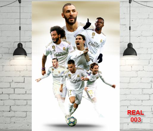 Decal Dán Tường Real Madrid Cực đẹp Dễ Sử Dụng Có Giá Tốt