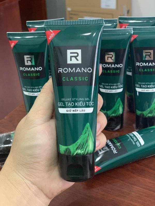 Gel vuốt tóc Romano  hàng khuyến mãi giá rẻ