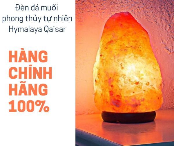 Đèn đá muối himalaya cao cấp (4-5kg) - mang tài lộc đến cho gia đình bạn tốt nhất