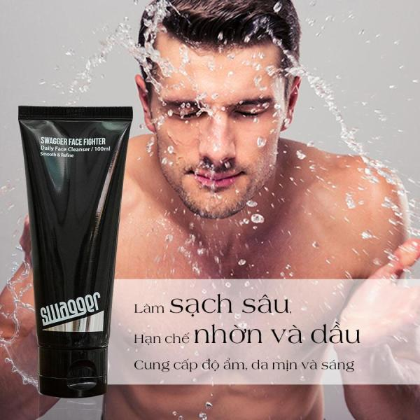 Sữa rửa mặt cho da dầu Swagger Face Fighter Hàn Quốc 100 ml giá rẻ