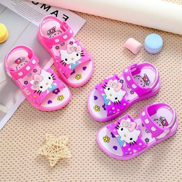 Giá bán Giày sandal quai hậu cho bé gái hình mèo kiity cute