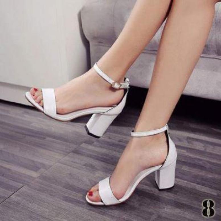 Giày cao gót quai ngang mờ 5p - CG-0012 giá rẻ