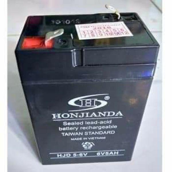 Bảng giá Bình ắc quy cho quạt sạc Honjianda 6v 5ah Điện máy Pico