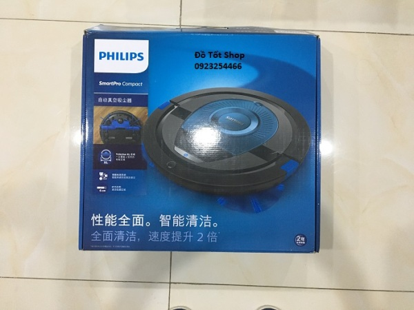Robot hút bụi Philips FC8776, FC8774 Smart Pro Compact