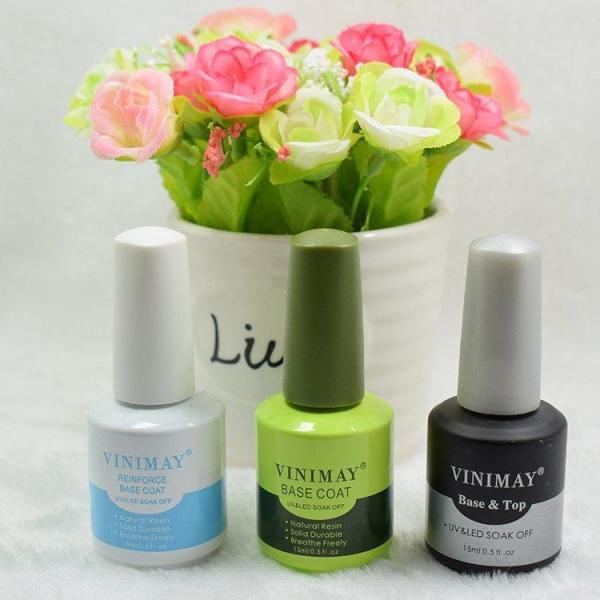 Top coat Vinimay nước bóng, sử dụng cuối sau bước sơn gel, cho bộ móng bóng đẹp, giữ màu sơn bền lâu. tốt nhất