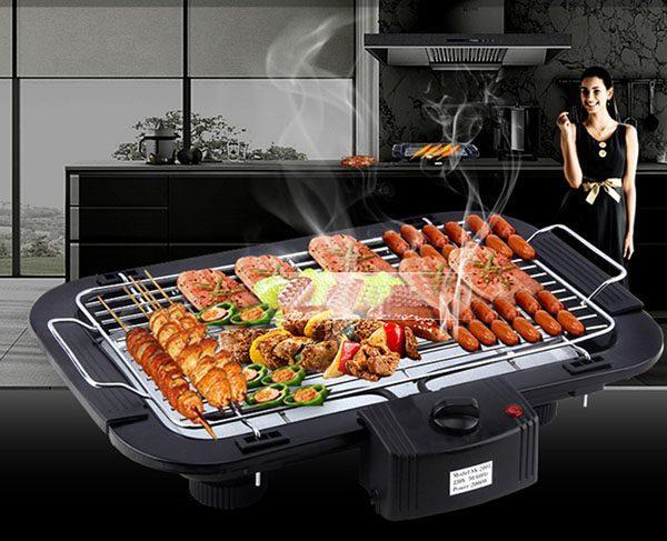 Bếp Nướng Điện Không Khói 2000W Electric Barbaque Grill