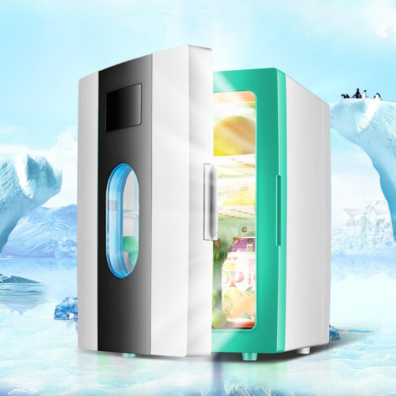 Tủ lạnh mini 2 chế độ làm lạnh hâm nóng cho gia đình và trên ô tô 10 lít SAST ST10L