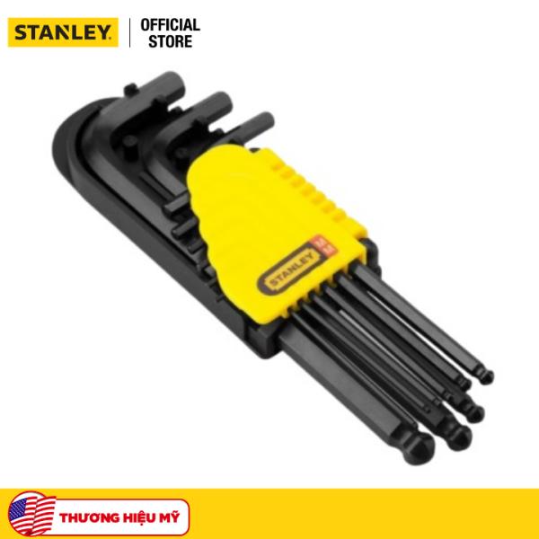 Bộ lục giác bi 9 cây 1.5mm-10mm 69-256 Stanley