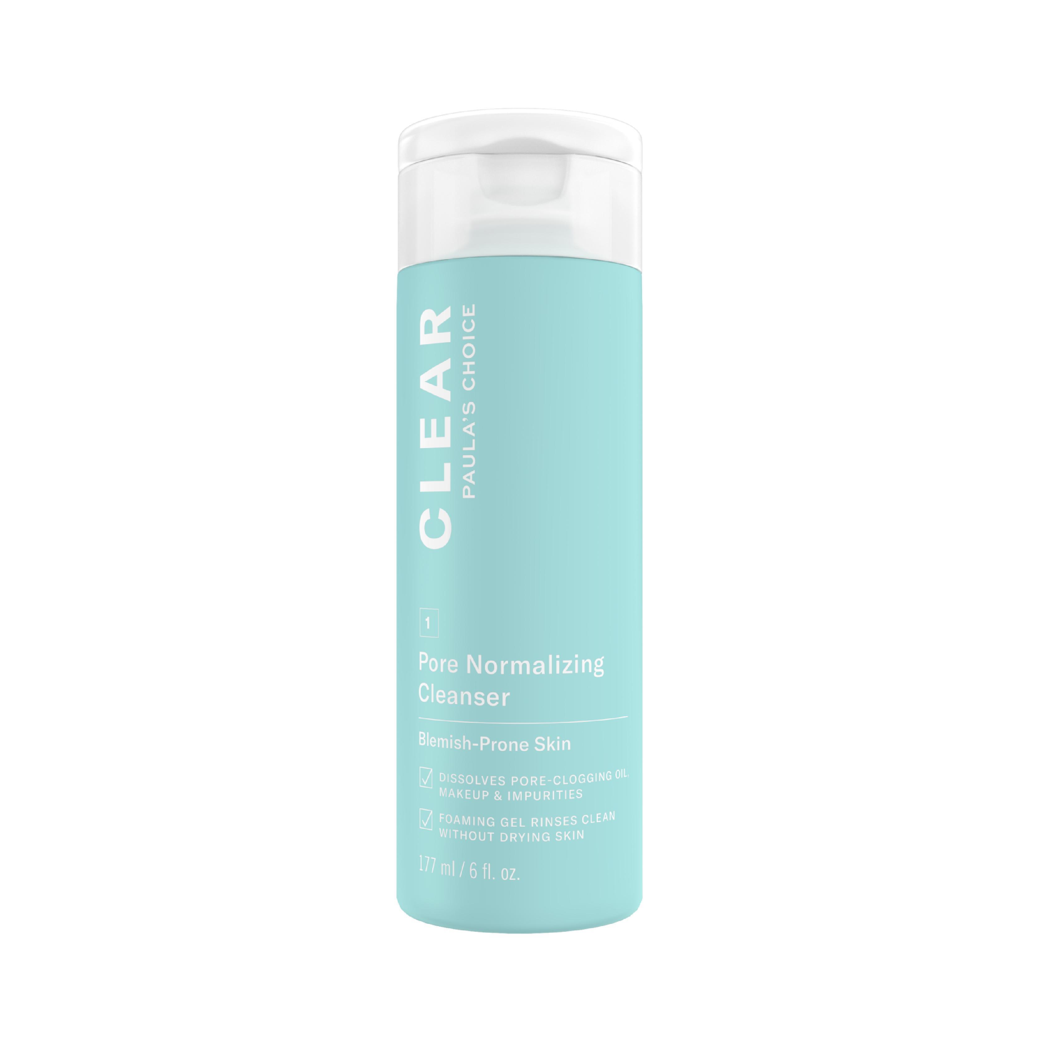 Sữa rửa mặt trị mụn và se khít lỗ chân lông Paula's Choice Clear Pore Normalizing Cleanser 177 ml chính hãng