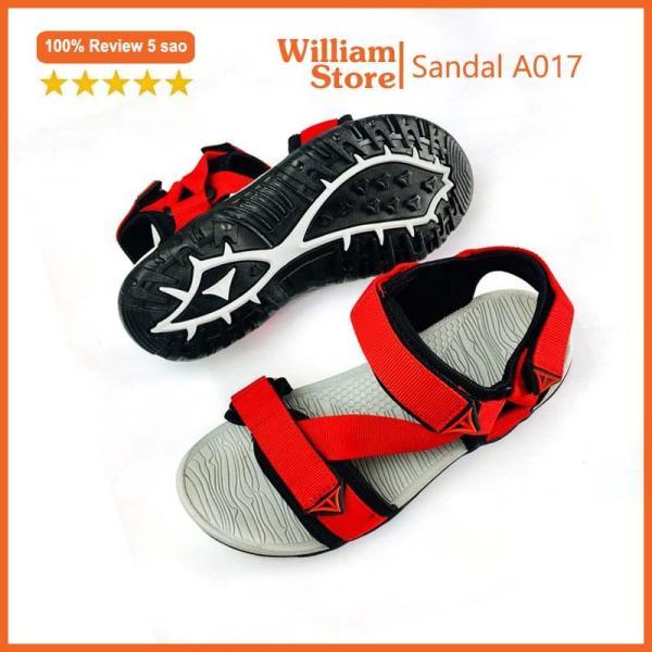 (Đủ size 34 - 43) Giày SANDAL quai hậu nam William kiểu dáng thời trang - A017