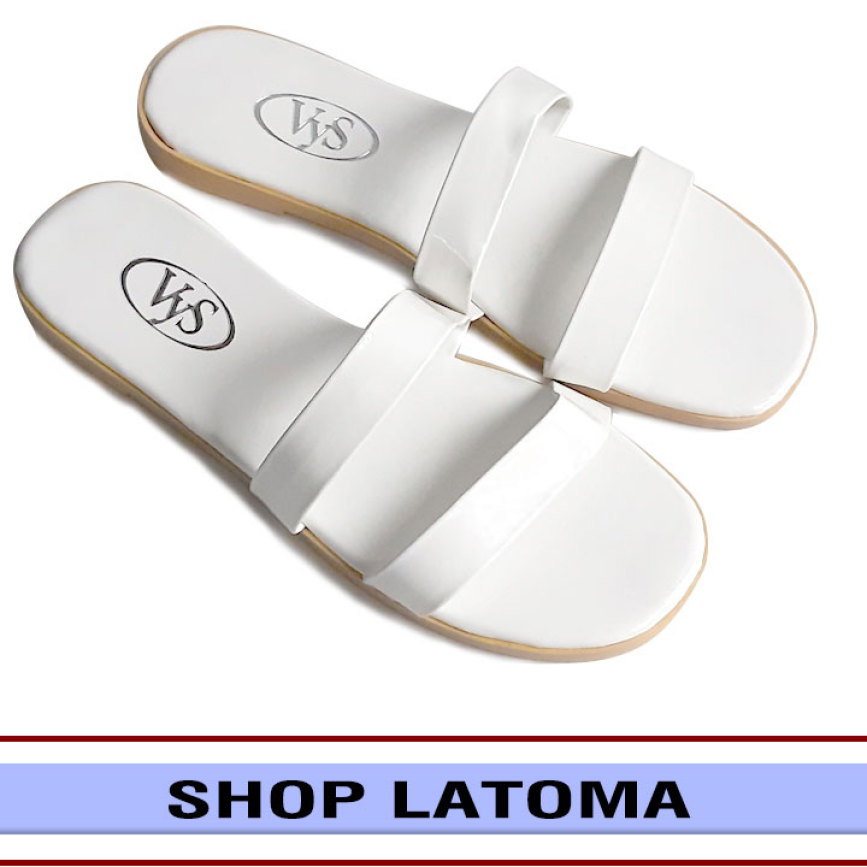 Dép lê, dép nữ, dép bệt, dép 2 quai ngang đơn giản thoáng mát, vận động dễ dàng, xinh xắn thời trang cao cấp Latoma TA3521 (Nhiều Màu) giá rẻ