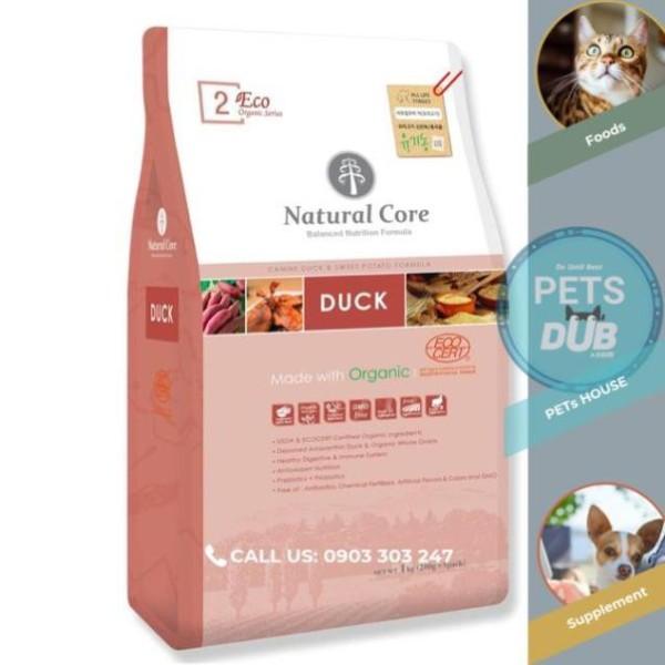 Natural Core THỨC ĂN CHO CHÓ THIT VỊT 1kg. (PETs dub)