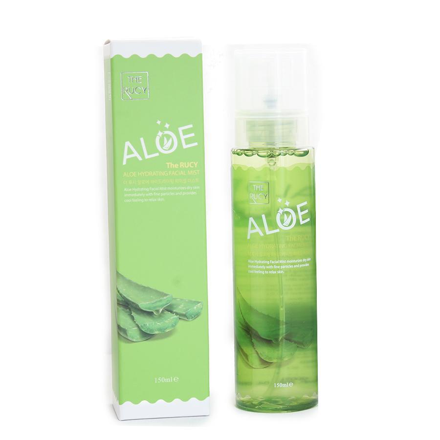 [Hàn Quốc] Xịt khoáng The Rucy Aloe Hydrating Facial Mist 150ml