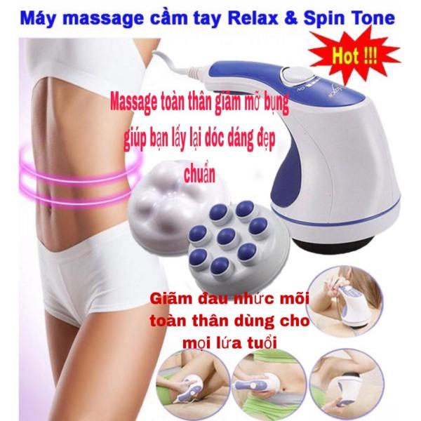 ( HÀNG CHÍNH HÃNG )Máy Massage cầm tay đánh tan mỡ bụng, Máy matxa cầm tay RELAX giảm mỡ bụng,Đánh Tan Mỡ Bụng, Máy Massage Cầm Tay - Dòng Máy Mát Xa Được Ưa Chuộng , Máy Massage Toàn Thân Giá Rẻ ( bảo hành 12 tháng ) cao cấp
