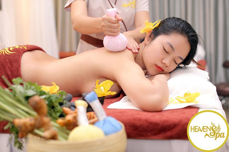 Voucher Massage Body - BÌNH THẠNH - Massage Đá Nóng + Massage Foot + Massage Cổ Vai Gáy + Massage Lưng Chân Tay - 70 phút - Heaven Spa