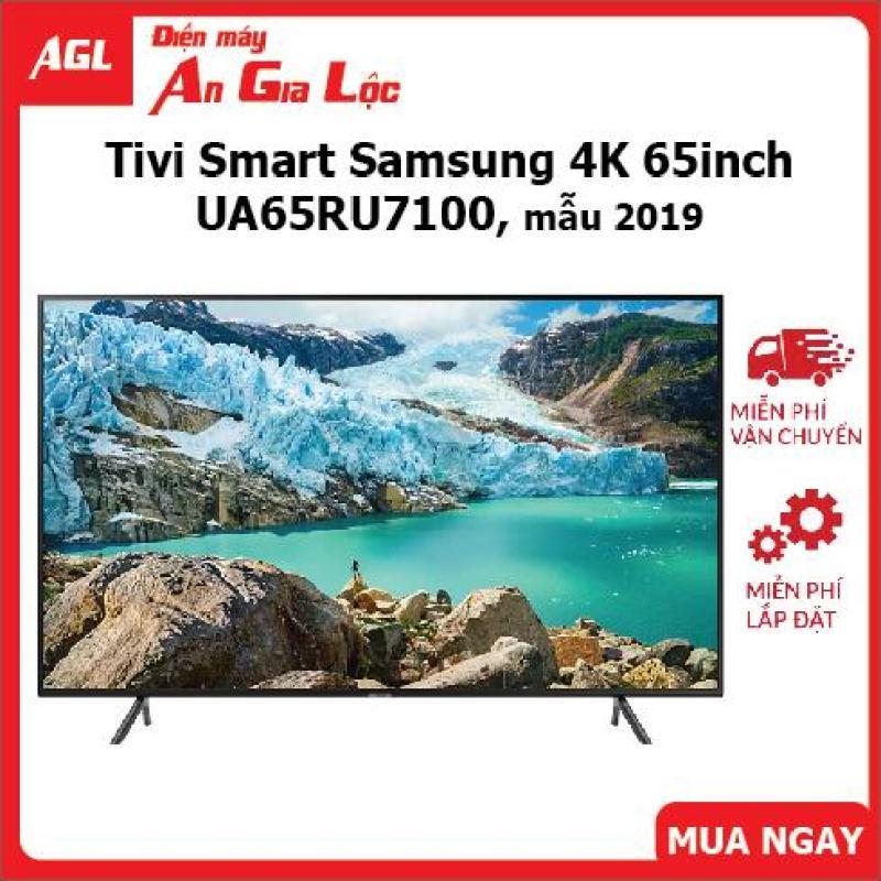 Smart TV Samsung 65 inch UHD 4K - Model 65RU7100 Bộ xử lý UHD Processor, UHD Dimming, Bluetooth, Youtube - Bảo Hành 2 Năm chính hãng